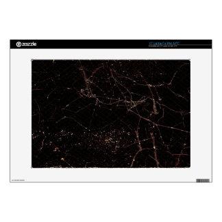 "Wide Screen Dark Background 15"" Laptop Decal"