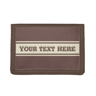 Wide Stripes custom wallets