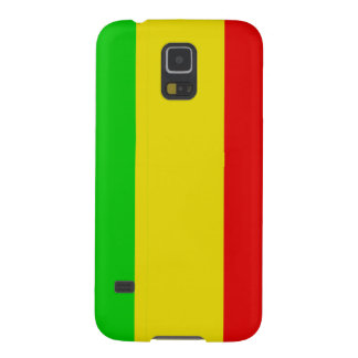 Wide Vertical Rasta Stripes Case For Galaxy S5