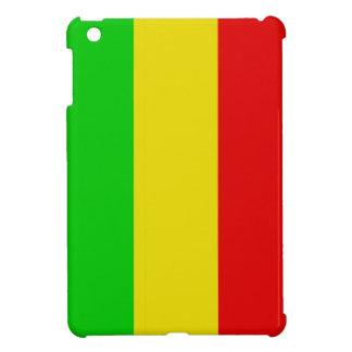 Wide Vertical Rasta Stripes iPad Mini Case