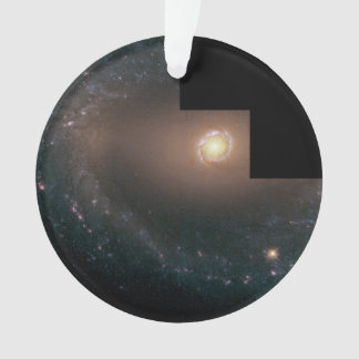 Wide view of Barred Spiral Galaxy NGC 1512