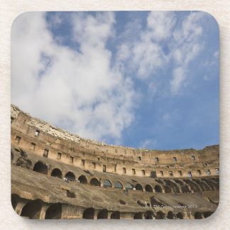 wide view of the interior of the Colosseum Drink Coaster