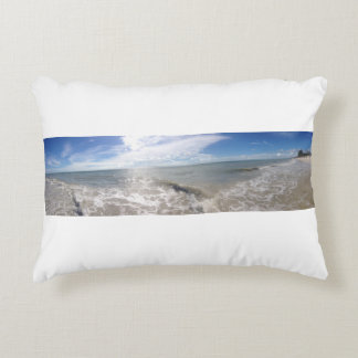 Wide Waves Decorative Pillow