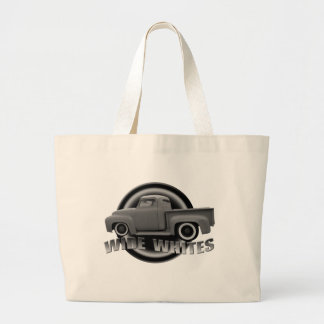 wide whites on steels canvas bags