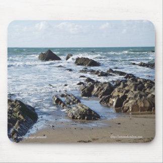 Widemouth Bay Beach Mousepad