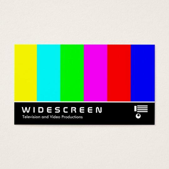 Widescreen 03 business card