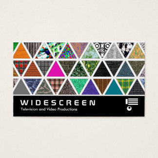 Widescreen 0436 - Triangular Textures 02 Business Card
