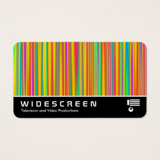 Widescreen 0532 - Abstract 120716(010) Business Card