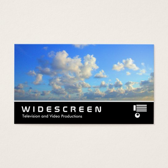 Widescreen 133 Clouds Business Card