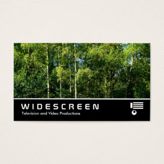 Widescreen 143 - Silver Birch Business Card