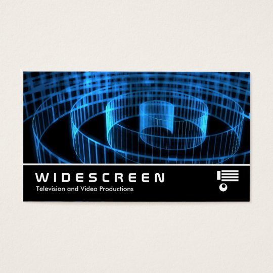 Widescreen 173 - Spirral Business Card