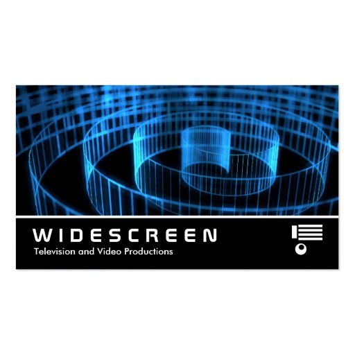 Widescreen 173 - Spirral Business Card Templates