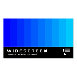 Widescreen 179 - Color Transition Business Cards