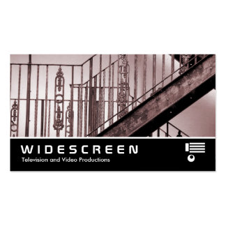 Widescreen 213 - Victorian Fire Escape Double-Sided Standard Business Cards (Pack Of 100)