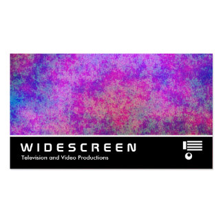 Widescreen 266 - Coral Forest Abstract Business Card