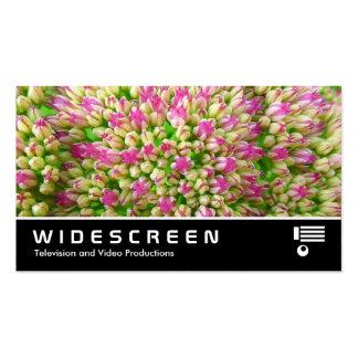 """Widescreen 349 - Sedum """"Autumn Joy"""" Business Card"""