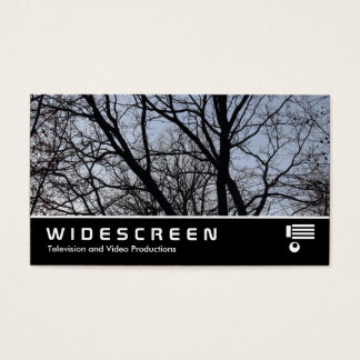 Widescreen 383 - Silhouetted Branches Business Card
