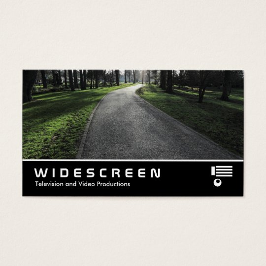 Widescreen 387 - Path in a Park Business Card