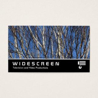 Widescreen 388 - Silver Birch Branches Business Card