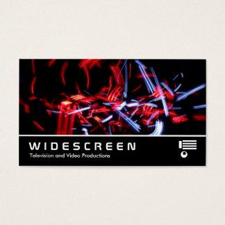 Widescreen 404 - Light Trails Business Card