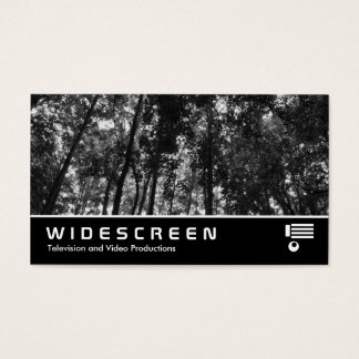 Widescreen 408 - Woodland Canopy BW Business Card