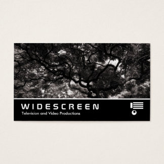 Widescreen 411 - Amongst the Magnolia Trees - Warm Business Card