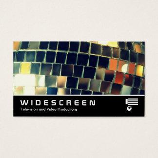 Widescreen 416 - Mirror Ball Business Card