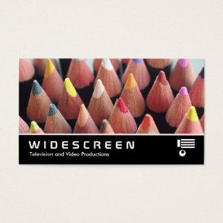 Widescreen 417 - Color Pencils Business Card