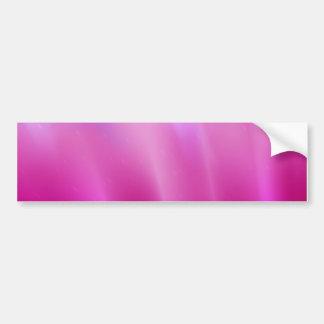 widescreen Pink Steam Car Bumper Sticker