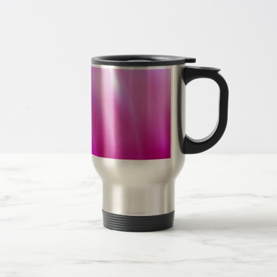 widescreen Pink Steam Travel Mug