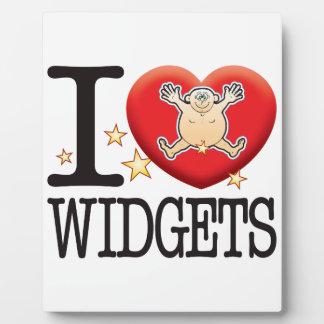 Widgets Love Man Plaque