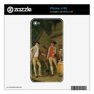 Widow Costard's Cow and Goods, Distrained for Taxe iPhone 4S Skin