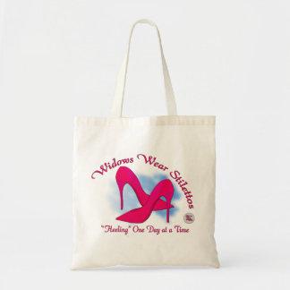 Widow Wear Stilettos Budget Tote Bag
