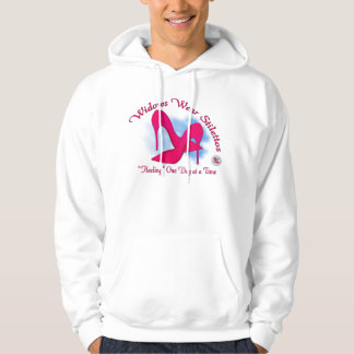 Widow Wear Stilettos Front Printing Hooded Pullovers