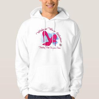 Widow Wear Stilettos Front Printing Hooded Sweatshirt