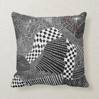 Widow's Web Black/White Pillows