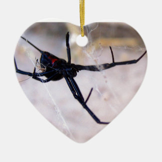 Widow's Web Ceramic Ornament