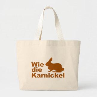 Wie die Karnickel... Tote Bag