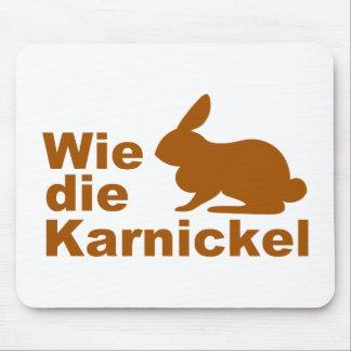 Wie die Karnickel... Mouse Pad
