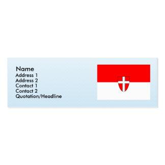 Wien, Austria Mini Business Card
