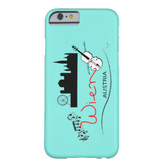 Wien, Austria - Österreich, Aqua Cool Barely There iPhone 6 Case