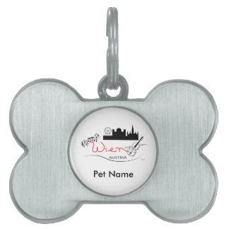 Wien, Austria - Österreich Pet Name Tag