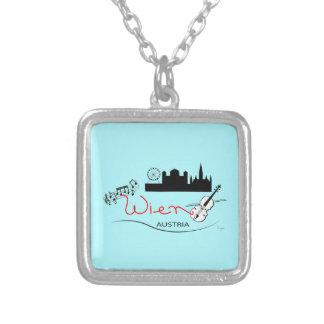 Wien, Austria - Österreich Silver Plated Necklace