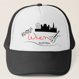 Wien, Austria - Österreich Trucker Hat