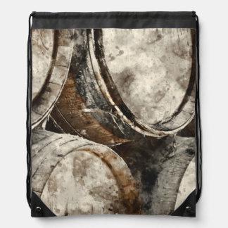 Wien Barrels Drawstring Backpack