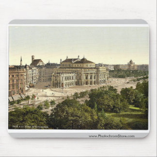 Wien. Burgtheater rare Photochrom Mouse Pad