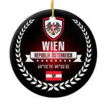Wien Ceramic Ornament