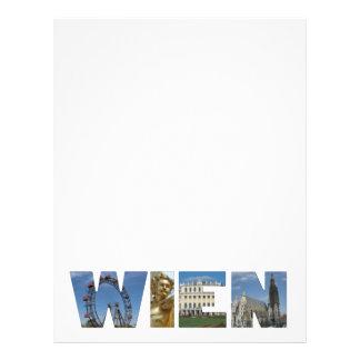 Wien Personalized Letterhead