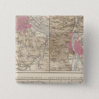 Wien, Prag, BudaPest Map Button