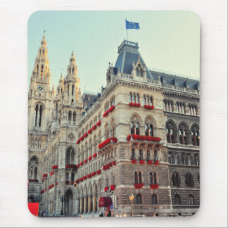 Wien Town Hall architecture Mousepad